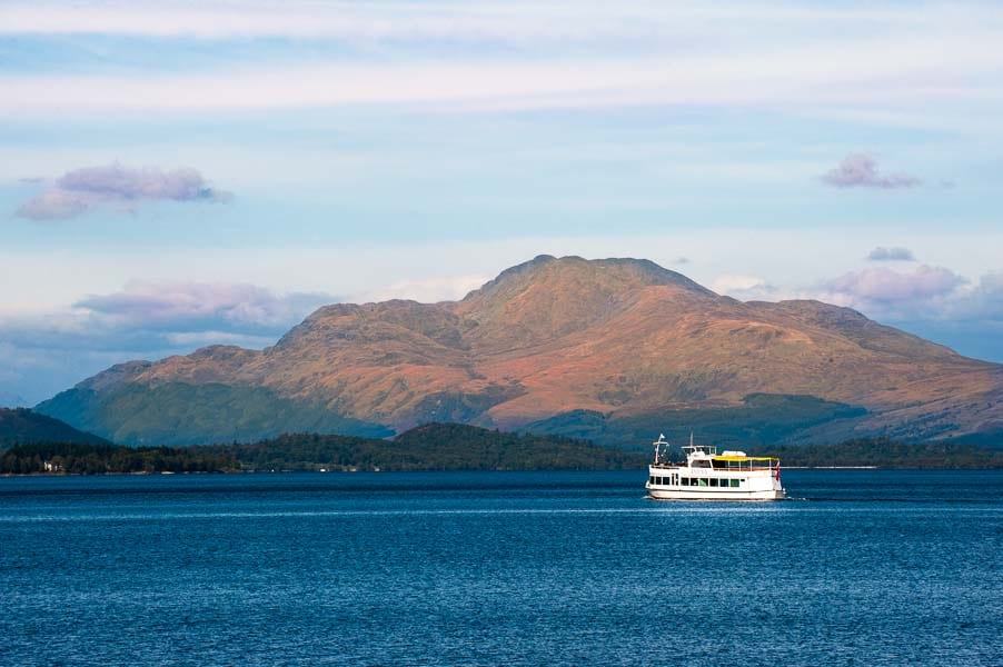 Autumn Boat Cruises Loch Lomond