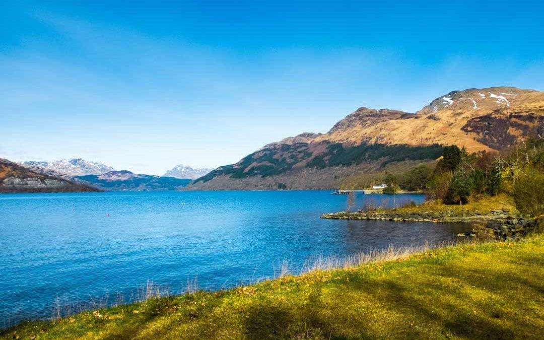 Ben Lomond on Loch Lomond, Scotland
